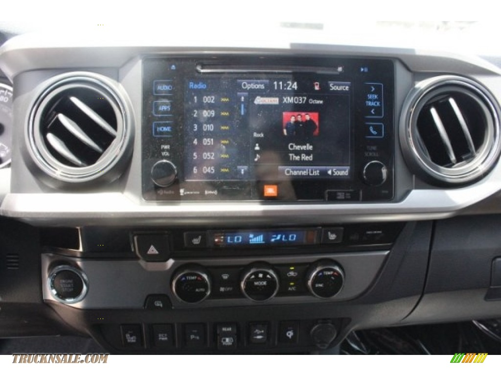 2018 Tacoma Limited Double Cab - Magnetic Gray Metallic / Hickory photo #17