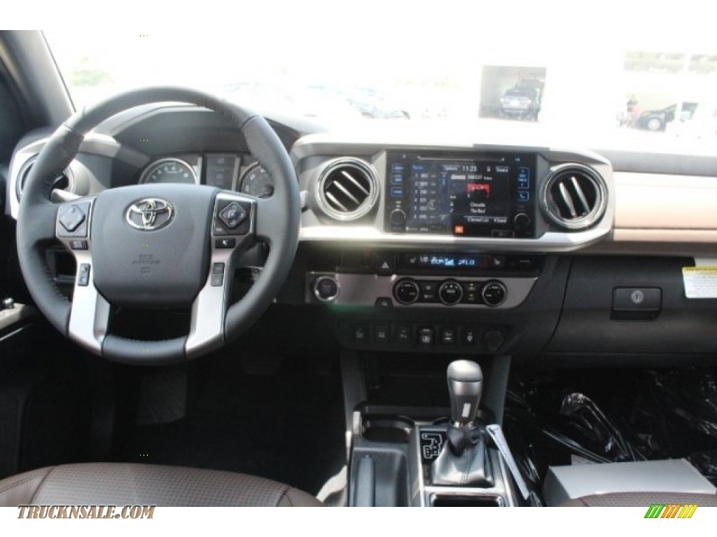 2018 Tacoma Limited Double Cab - Magnetic Gray Metallic / Hickory photo #25