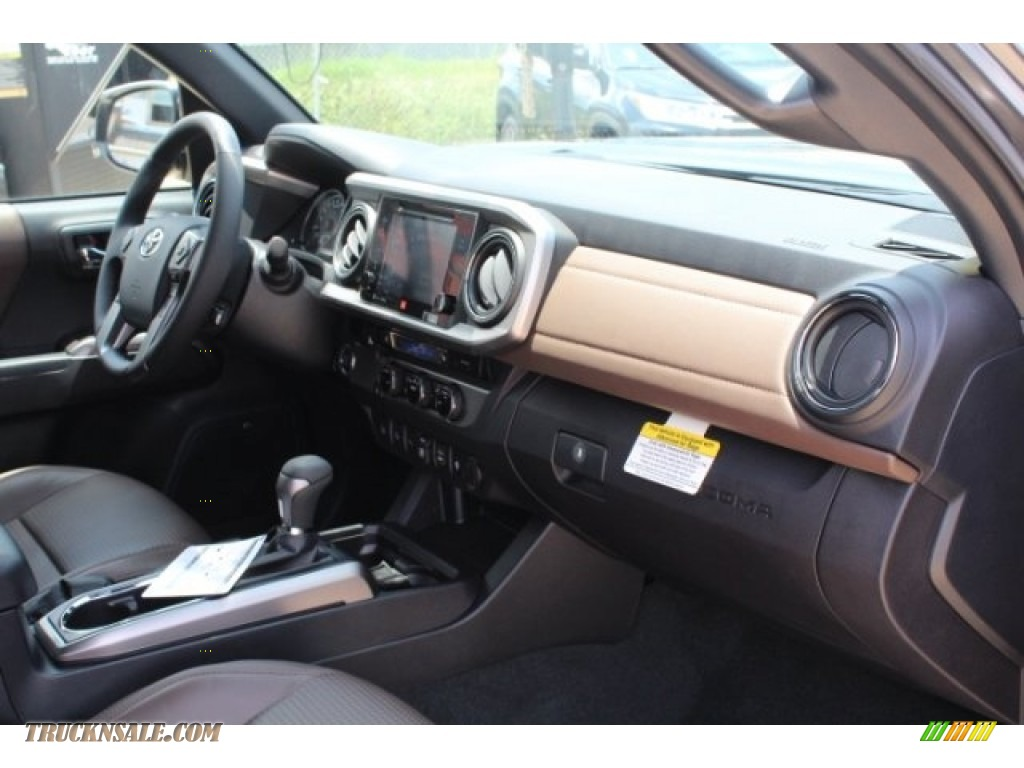 2018 Tacoma Limited Double Cab - Magnetic Gray Metallic / Hickory photo #31