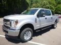 Ford F250 Super Duty XL Crew Cab 4x4 Ingot Silver photo #5