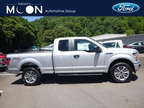 Ingot Silver 2018 Ford F150 XL SuperCab 4x4