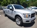 Ford F150 XL SuperCab 4x4 Ingot Silver photo #3