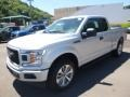 Ford F150 XL SuperCab 4x4 Ingot Silver photo #5