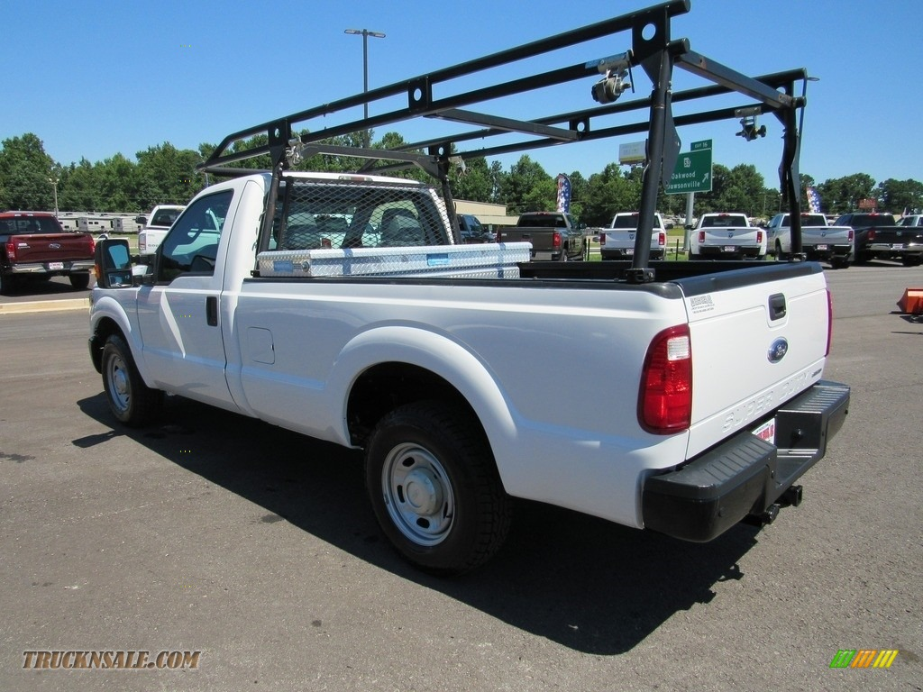 2015 F250 Super Duty XL Regular Cab - Oxford White / Steel photo #3