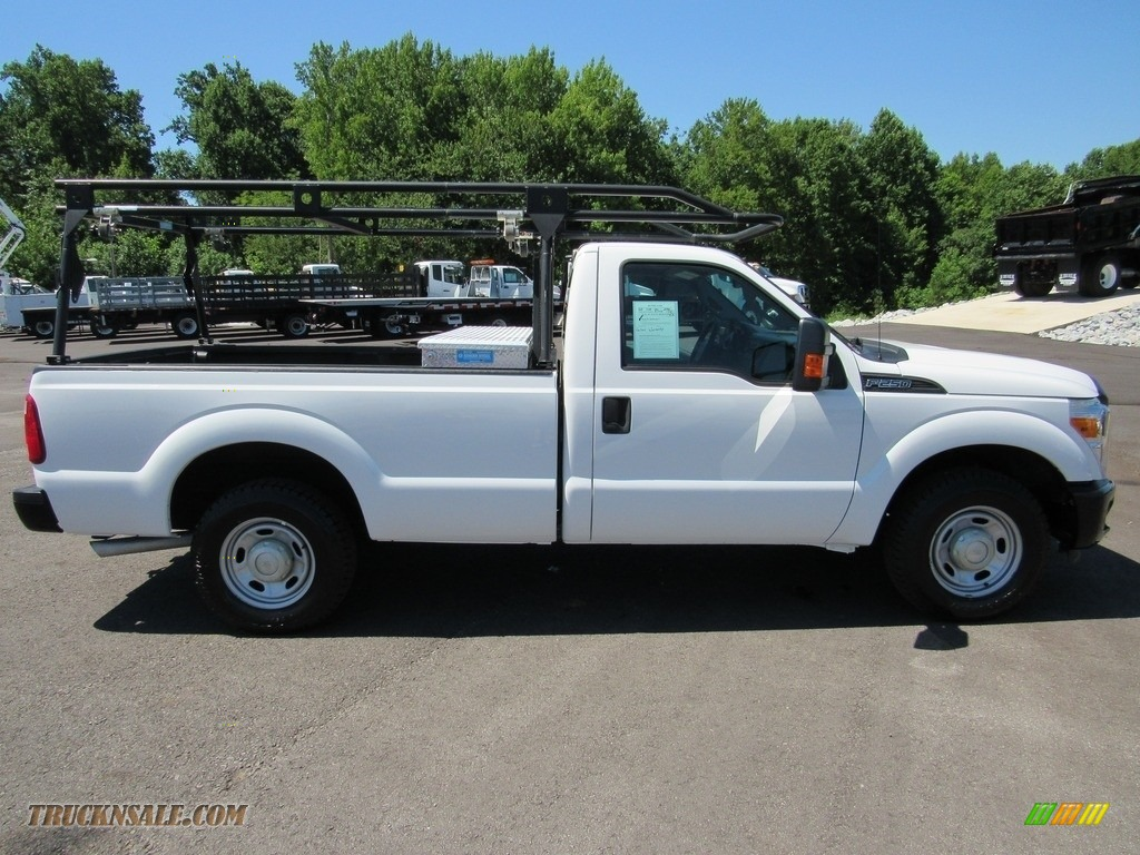 2015 F250 Super Duty XL Regular Cab - Oxford White / Steel photo #6
