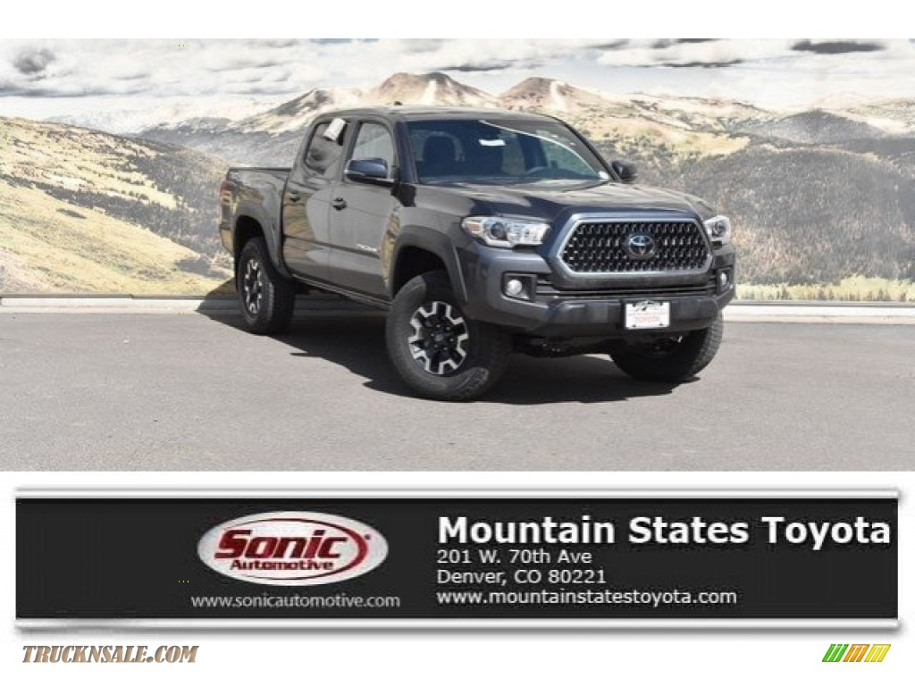 Magnetic Gray Metallic / Graphite w/Gun Metal Toyota Tacoma TRD Off Road Double Cab 4x4