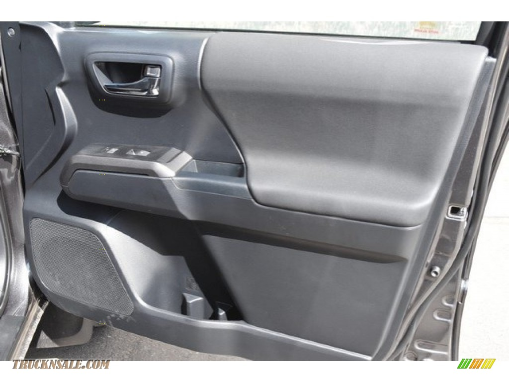 2018 Tacoma TRD Off Road Double Cab 4x4 - Magnetic Gray Metallic / Graphite w/Gun Metal photo #22