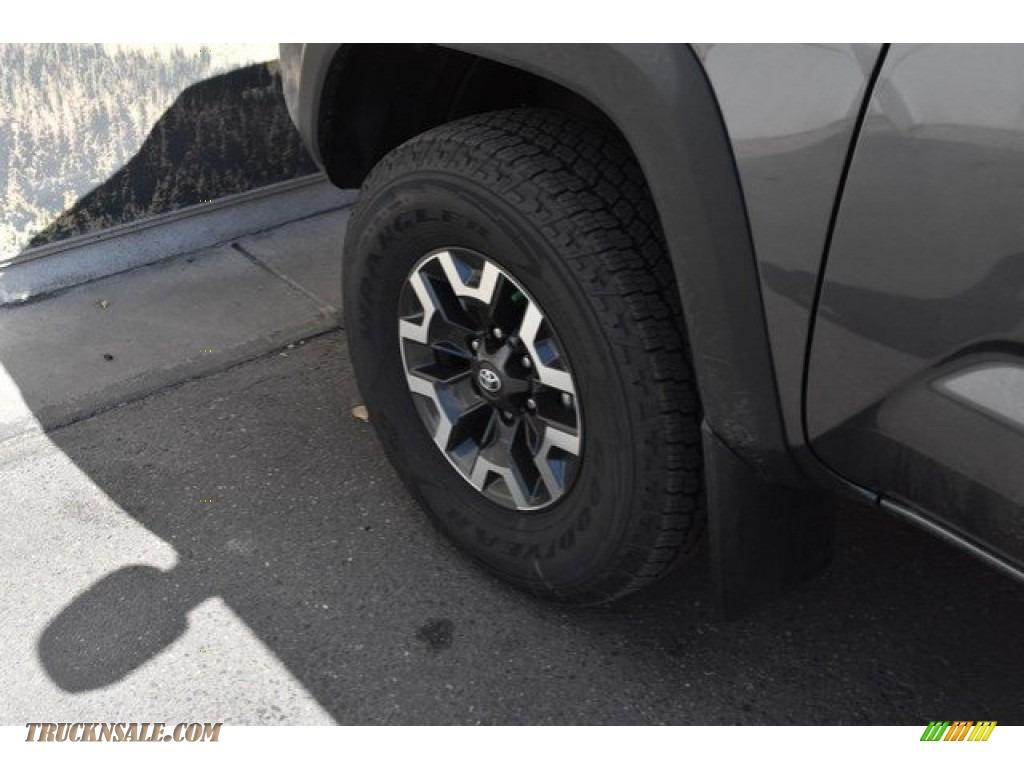 2018 Tacoma TRD Off Road Double Cab 4x4 - Magnetic Gray Metallic / Graphite w/Gun Metal photo #32
