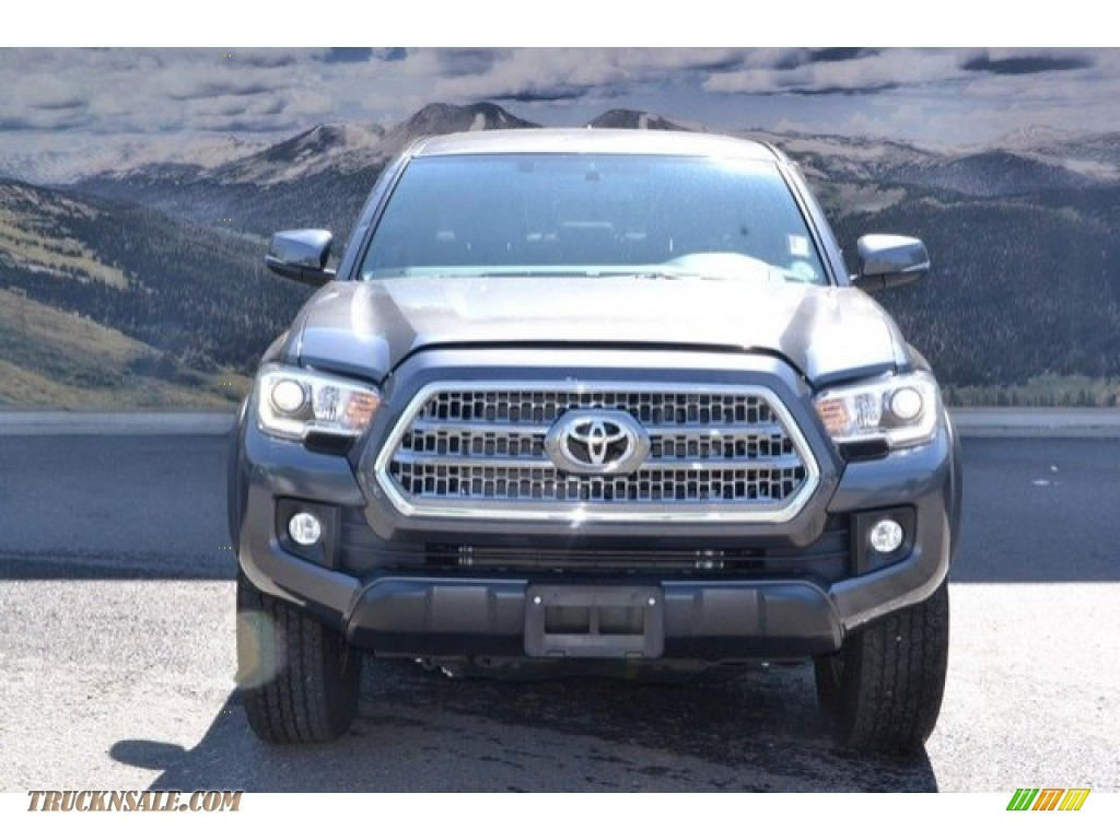 2017 Tacoma TRD Off Road Double Cab 4x4 - Magnetic Gray Metallic / Cement Gray photo #8