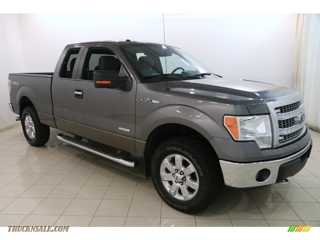 2014 F150 XLT SuperCab 4x4 - Sterling Grey / Steel Grey photo #1