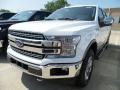 Ford F150 Lariat SuperCrew 4x4 Oxford White photo #1