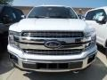 Ford F150 Lariat SuperCrew 4x4 Oxford White photo #2