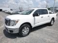 Nissan Titan SV Crew Cab 4x4 Glacier White photo #8
