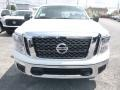 Nissan Titan SV Crew Cab 4x4 Glacier White photo #9