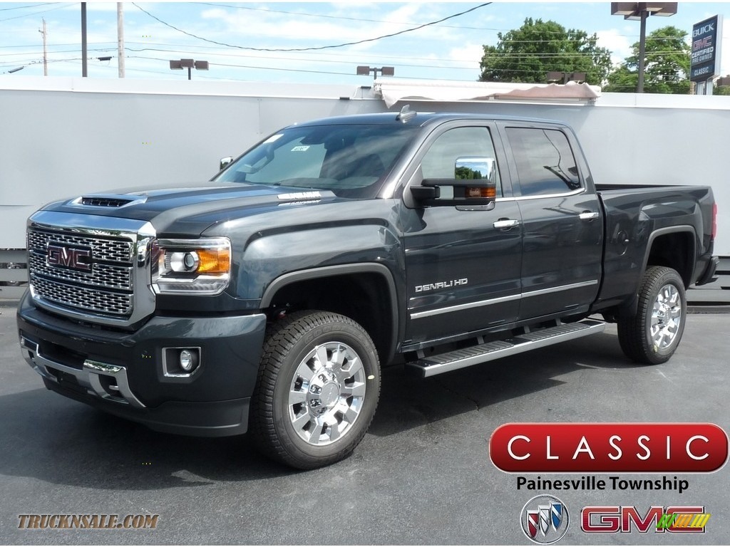 2019 Sierra 2500HD Denali Crew Cab 4WD - Dark Slate Metallic / Jet Black photo #1