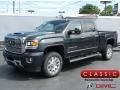 GMC Sierra 2500HD Denali Crew Cab 4WD Dark Slate Metallic photo #1
