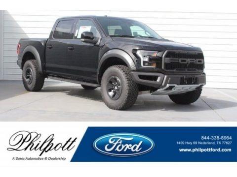 Shadow Black 2018 Ford F150 SVT Raptor SuperCrew 4x4