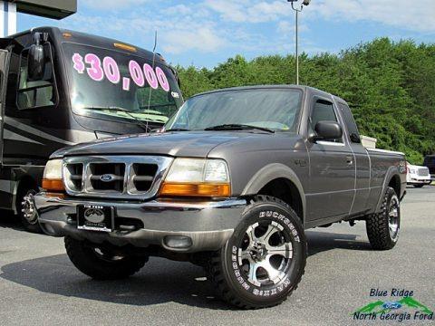 Medium Platinum Metallic 1999 Ford Ranger XLT Extended Cab 4x4