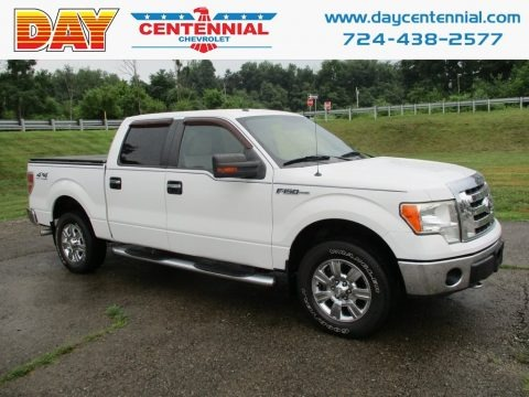 Oxford White 2009 Ford F150 XLT SuperCrew 4x4