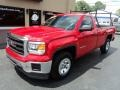 GMC Sierra 1500 Regular Cab Fire Red photo #2