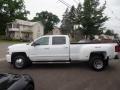 Chevrolet Silverado 3500HD LTZ Crew Cab 4x4 Dual Rear Wheel Summit White photo #8