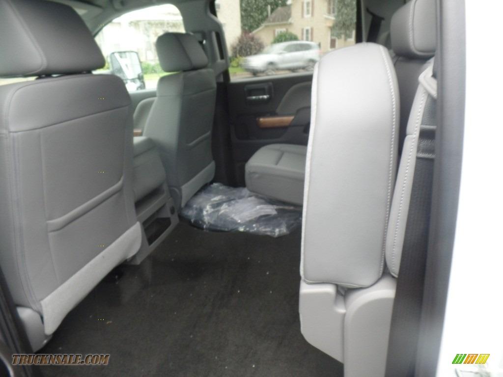 2019 Silverado 3500HD LTZ Crew Cab 4x4 Dual Rear Wheel - Summit White / Dark Ash/Jet Black photo #46