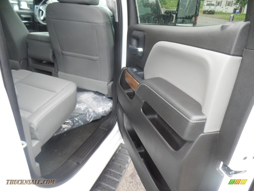 2019 Silverado 3500HD LTZ Crew Cab 4x4 Dual Rear Wheel - Summit White / Dark Ash/Jet Black photo #47