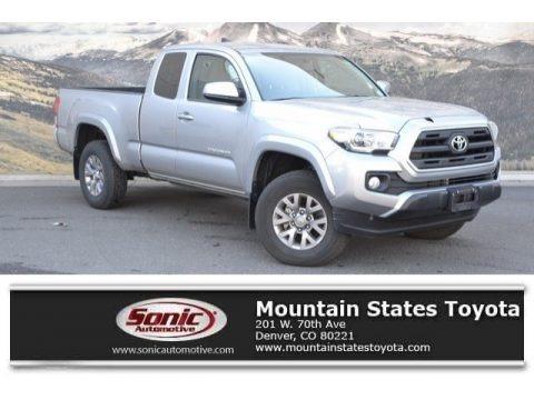 Silver Sky Metallic 2017 Toyota Tacoma SR5 Access Cab 4x4