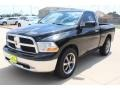 Dodge Ram 1500 SLT Regular Cab Brilliant Black Crystal Pearl photo #3