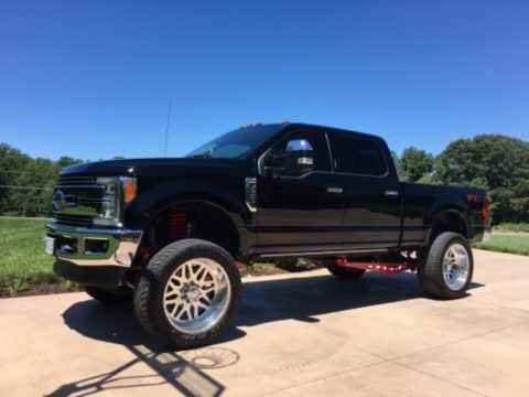 Shadow Black 2017 Ford F250 Super Duty Lariat Crew Cab 4x4