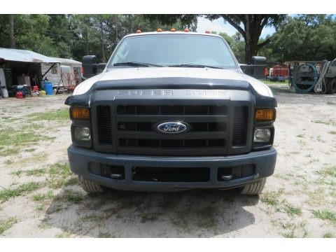 Oxford White 2008 Ford F350 Super Duty XL Crew Cab 4x4