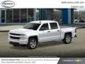 Chevrolet Silverado 1500 Custom Crew Cab 4x4 Summit White photo #2