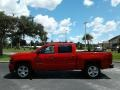 Chevrolet Silverado 1500 Custom Crew Cab 4x4 Red Hot photo #2