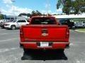 Chevrolet Silverado 1500 Custom Crew Cab 4x4 Red Hot photo #4