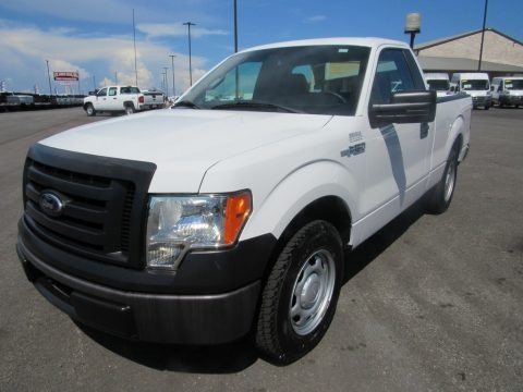 Oxford White 2012 Ford F150 XL Regular Cab