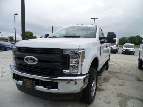 Oxford White 2019 Ford F250 Super Duty XL Regular Cab 4x4