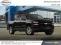 Chevrolet Silverado 1500 Custom Crew Cab 4x4 Black photo #4