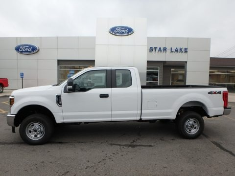 Oxford White 2019 Ford F250 Super Duty XL SuperCab 4x4