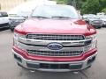 Ford F150 Lariat SuperCrew 4x4 Ruby Red photo #4
