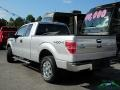 Ford F150 XLT SuperCab 4x4 Ingot Silver Metallic photo #2