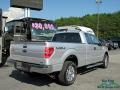 Ford F150 XLT SuperCab 4x4 Ingot Silver Metallic photo #5