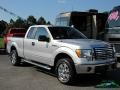 Ford F150 XLT SuperCab 4x4 Ingot Silver Metallic photo #7