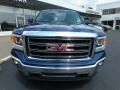 GMC Sierra 1500 SLE Double Cab 4x4 Stone Blue Metallic photo #2