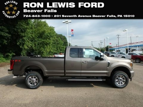 Stone Gray 2019 Ford F250 Super Duty XLT SuperCab 4x4
