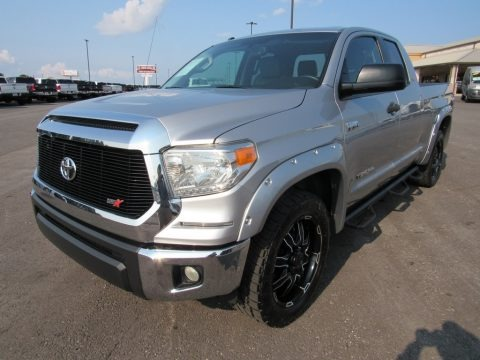 Magnetic Gray Metallic 2014 Toyota Tundra SR5 Double Cab