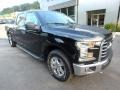 Ford F150 XLT SuperCrew 4x4 Shadow Black photo #8