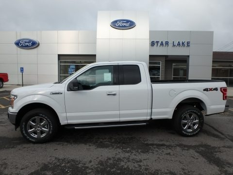Oxford White 2018 Ford F150 XLT SuperCab 4x4