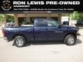 Dodge Ram 1500 ST Quad Cab 4x4 True Blue Pearl photo #1