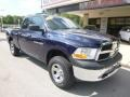 Dodge Ram 1500 ST Quad Cab 4x4 True Blue Pearl photo #3