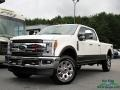Ford F250 Super Duty King Ranch Crew Cab 4x4 White Platinum photo #1